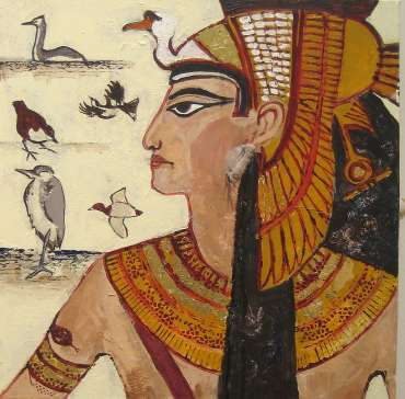Thumbnail image of Eileen Brookes, 'River Queen' - Project 2006 - New Art inspired by the Ancient Egyptian Collection