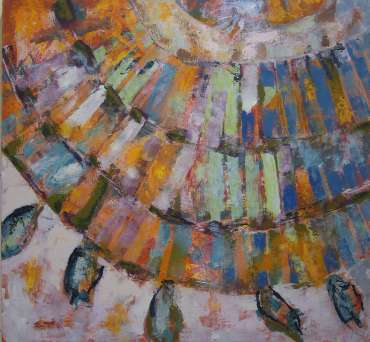 Thumbnail image of Lesley Brooks, 'Rays - Project 2006 - New Art inspired by the Ancient Egyptian Collection