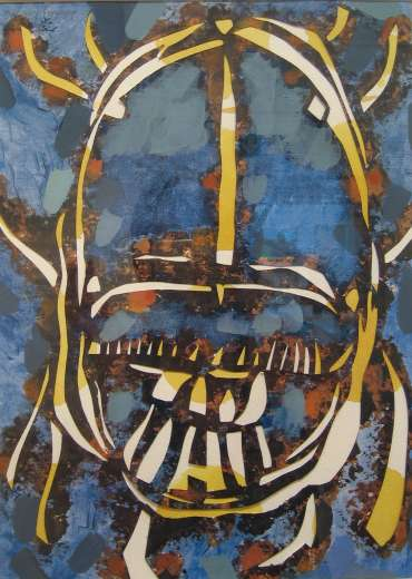Thumbnail image of Lesley Brooks, 'Dung Beetle -Night' - Project 2006 - New Art inspired by the Ancient Egyptian Collection