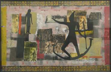 Thumbnail image of Ruth Cockayne, 'Egypt, Journey' - Project 2006 - New Art inspired by the Ancient Egyptian Collection