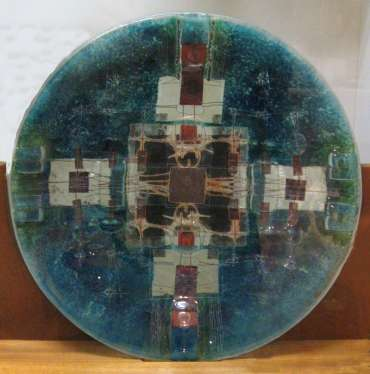 Thumbnail image of Carrie Anne Funnell, Glass Platter, 2002, - 125 Years In The Making
