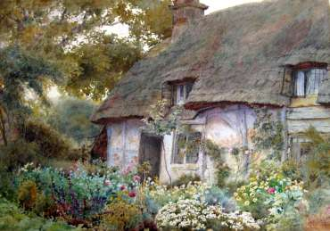 Thumbnail image of Wilmot Pilsbury, A Worcestershire Cottage, 1902, - 125 Years In The Making