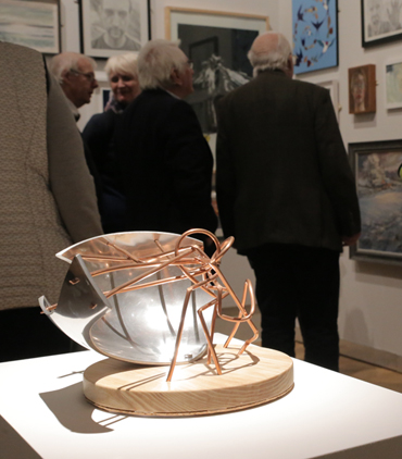 Thumbnail image of Carl Swanson, 'What a Web we Weave', Aluminium, copper & wood - LSA ANNUAL EXHIBITION 2017