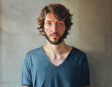 Thumbnail image of Geoffrey Beasley, 'Portrait of Alex', oil - Charles Stanley Gold Prize - LSA Annual Exhibition 2017 Prize Winners