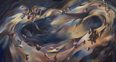 Thumbnail image of Holly Kerslake, 'We Can Get Along', oil on canvas - LSA Student Award 2017 Runner Up - LSA Annual Exhibition 2017 Prize Winners