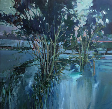 Thumbnail image of Christopher Bent, 'First Frost', [unframed] - Stars - Art Auction Evening