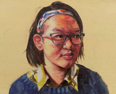 Thumbnail image of Yuanqing Zhang - Leicester High School for Girls - Little Selves - Browse Artworks A-Z