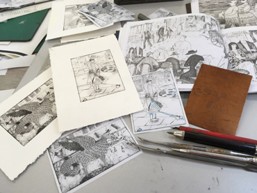 Thumbnail image of A selection of Jane Sunbeam's work and Suzanne Balkanyi inspiration  - No One Will Ever Know How Happy I've Been