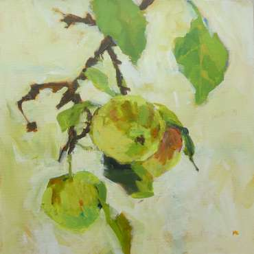Thumbnail image of Hazel Crabtree, 'English Apples' - A sample of artworks in LSA Annual Exhibition 2019