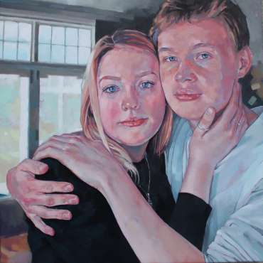 Thumbnail image of Jane French, 'Albert and Ella' - A sample of artworks in LSA Annual Exhibition 2019
