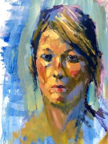 Thumbnail image of Tony O'Dwyer, 'Sian a Portrait' - A sample of artworks in LSA Annual Exhibition 2019