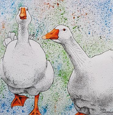 Thumbnail image of Sally Struszkowski,'Wait for Me' - Market Harborough Art Club Art Exhibition
