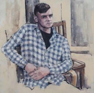 Thumbnail image of 82: Alan Willey, 'Matt' - LSA Annual Exhibition 2020 | Artwork