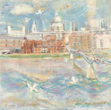 Thumbnail image of 81: Ann Wignall, 'From Tate Modern' - LSA Annual Exhibition 2020 | Artwork