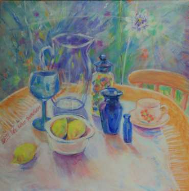 Thumbnail image of 80: Ann Wignall, 'Still Life with Passion Flower' - LSA Annual Exhibition 2020 | Artwork