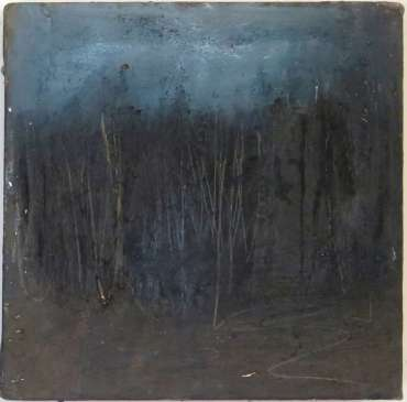 Thumbnail image of 20: Jacqui Gallon, 'Woodland Abstruction' - right panel of diptych - LSA Annual Exhibition 2020 | Artwork