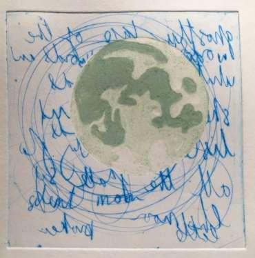 Thumbnail image of 45: Jo McChesney, 'Green Moon' - LSA Annual Exhibition 2020 | Artwork