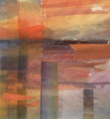 Thumbnail image of 21: Linda Gleave, 'Breakwater' - LSA Annual Exhibition 2020 | Artwork