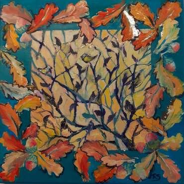 Thumbnail image of 53: Rita Sadler, 'Autumn Gold' - LSA Annual Exhibition 2020 | Artwork
