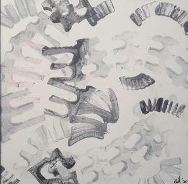 Thumbnail image of 33: Roderick Hill, 'Arish Mell, Dorset' - sketch - LSA Annual Exhibition 2020 | Artwork