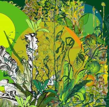 Thumbnail image of 10: Sue Clegg, 'Seventh Heaven 1' - LSA Annual Exhibition 2020 | Artwork