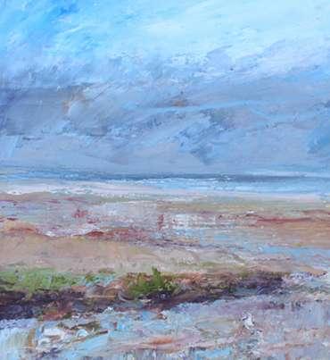 Thumbnail image of 23: Sue Graham, 'Purple Haze, Holme-next-the-Sea, Norfolk' - LSA Annual Exhibition 2020 | Artwork