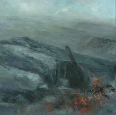 Thumbnail image of 26: Suzanne Harry, 'Towards Carl Walk, Peak District' - Diptygh - Left Panel - LSA Annual Exhibition 2020 | Artwork