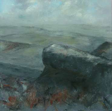 Thumbnail image of 27: Suzanne Harry, 'Towards Carl Walk, Peak District' - Diptygh - Right Panel - LSA Annual Exhibition 2020 | Artwork