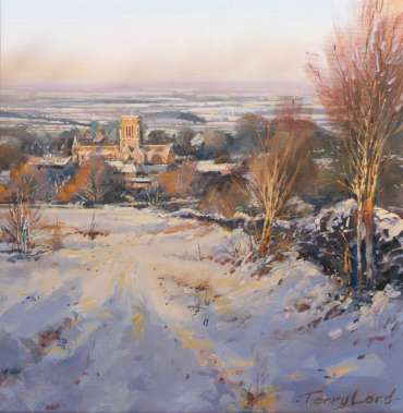 Thumbnail image of 41: Terry Lord, 'St Bernard Abbey from Warren Hills' - LSA Annual Exhibition 2020 | Artwork
