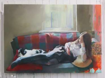 Thumbnail image of Chris Macauley, 'Lily and Percy', - Inspired | April