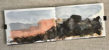 Thumbnail image of David Clarke, 'Mood Scape' series - work in progress (1) - Inspired | April
