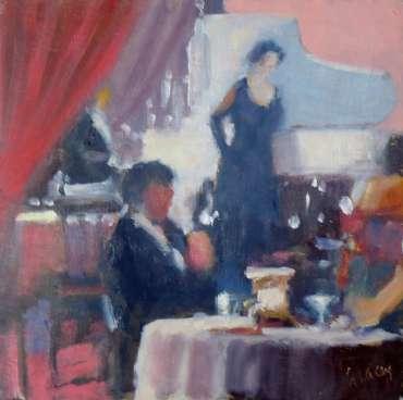 Thumbnail image of Graham Lacey, 'Cabaret' - Inspired | April
