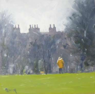 Thumbnail image of Graham Lacey, 'Sunday Morning with Dog' - Inspired | April