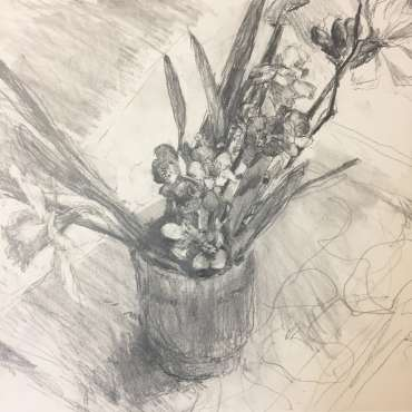 Thumbnail image of Hazel Crabtree, 'Dedham Flowers' - Inspired | April