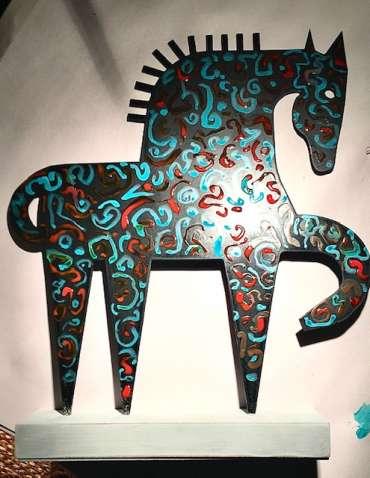 Thumbnail image of Henrietta Corbett, 'Horse' - Inspired | April