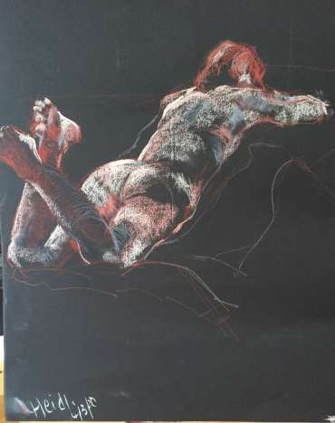 Thumbnail image of Judy Merriman, 'Lady Reclining' - Inspired | April