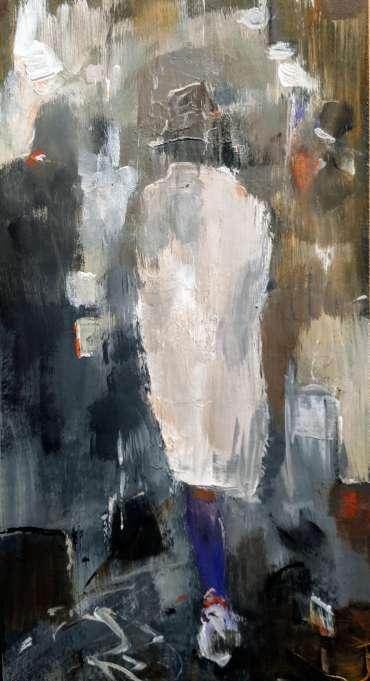 Thumbnail image of Linda Sharman, 'Raining Cats and Dogs' - Inspired | April