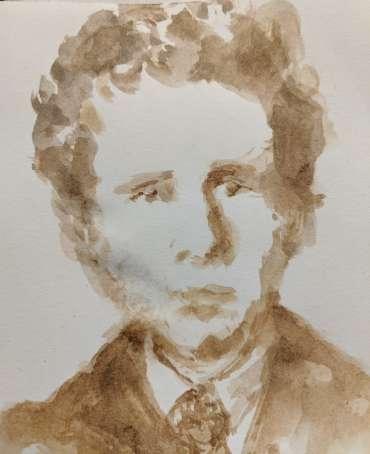 Thumbnail image of Linda Sharman, 'Van Gogh Brother' - Inspired | April