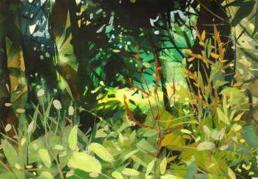 Thumbnail image of Peter Clayton, 'Celebrate Urban Trees – Wild Flowers amongst trees' - Inspired | April