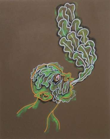 Thumbnail image of Phil Redford, 'Song of the Earth: Green Man' - Inspired | April