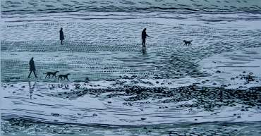 Thumbnail image of Sally Hill, 'Beach in Winter' - Inspired | April