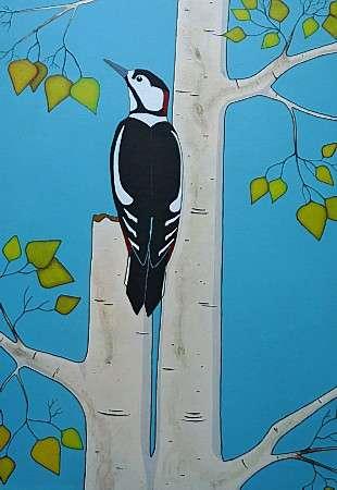 Thumbnail image of Stuart Hill, 'Woodpecker' - Inspired |  May