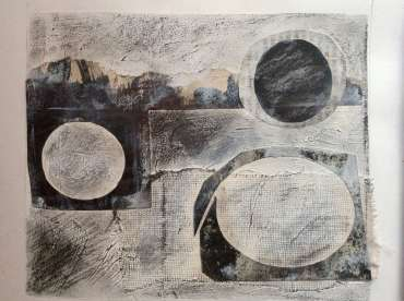 Thumbnail image of Bim Fowler - 'Abstract 1' - sketchbook study - Inspired |  May