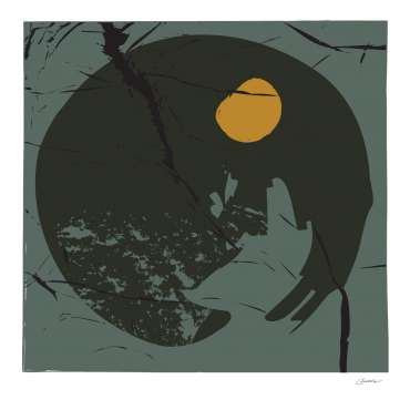 Thumbnail image of David Clarke, 'End of Winter Moon 2' - Inspired |  May