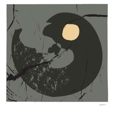 Thumbnail image of David Clarke, 'End of Winter Moon 3' - Inspired |  May