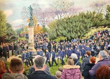 Thumbnail image of Frank BIngley, 'Remembrance Sunday, Hinckley' - Inspired |  May