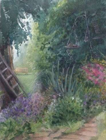 Thumbnail image of Glen Heath, 'The Seat - The Canal Garden' - Inspired |  May