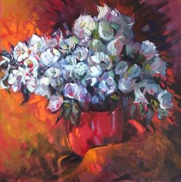 Thumbnail image of Judy Merriman, 'White Azalea' - Inspired |  May