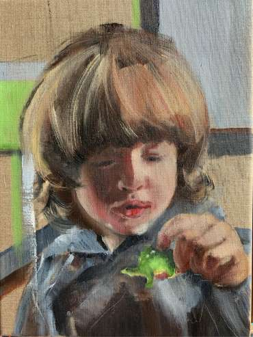 Thumbnail image of Julie Manson, 'James - he lives his Dinosaurs' - Inspired |  May