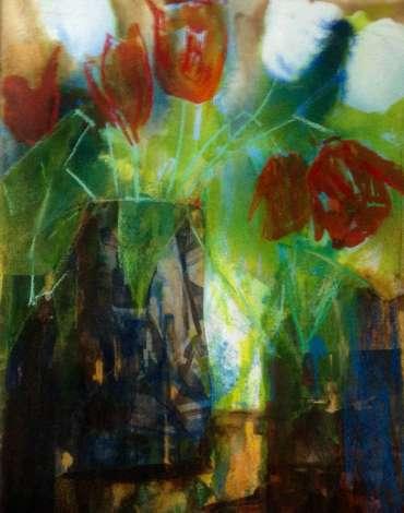 Thumbnail image of Katie Macdowel, 'Tulips' - Inspired |  May